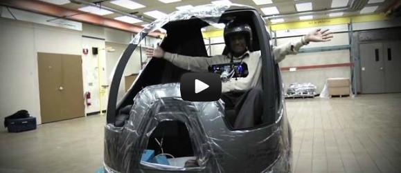 GM's EN-V Zero-Emission, Electric Concept Car