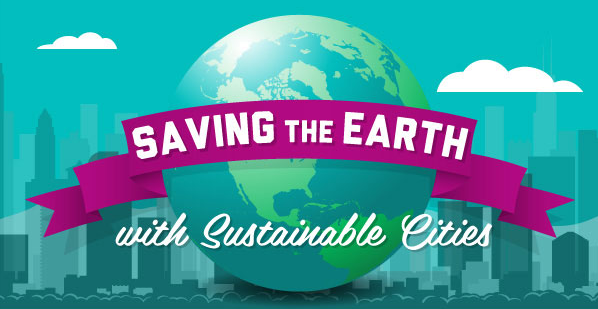Infographic: Saving the earth with sustainable cities