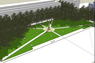 Eisenhower Memorial, Washington DC