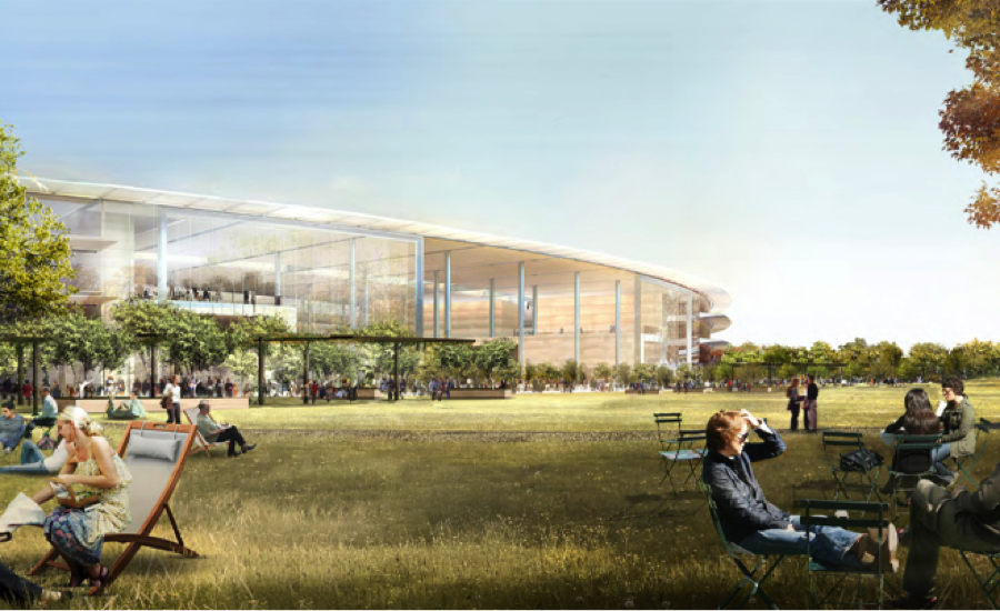 Rendering of Apple's new Cupertino Headquarters, Photo Credit: City of Cupertino
