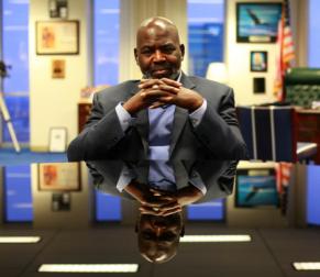 Mayor Mike Bell, Toledo, Ohio (Photo Credit: Joshua Lott/New York Times)