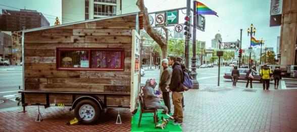 Artist Workspace Prototype Rolls Down Market Street