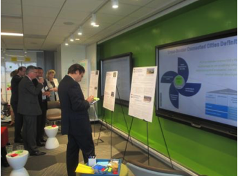Stakeholders at the Deloitte U.S. Greenhouse