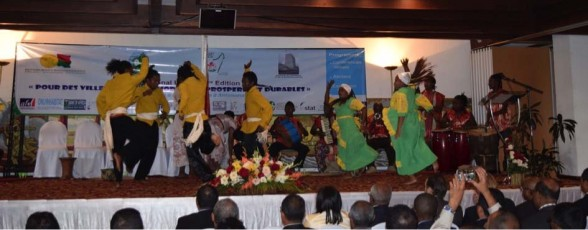 Things are different here: A traditional Madagascan dance interlude at the National Urban Forum