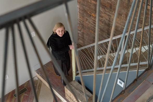 Terry Schwarz, director of Cleveland Urban Design Collaborative - Photo © Bob Perkoski, www.Perkoski.com