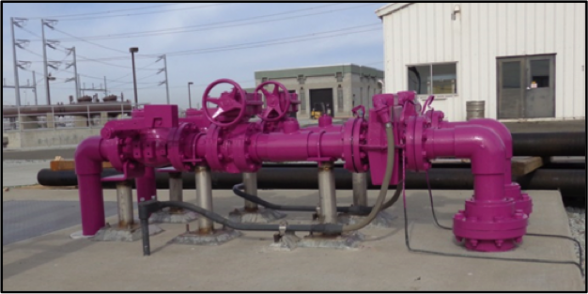 Purple Power (recycled water is distributed through purple pipe)